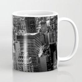 Manhattan Noir - Sky view Coffee Mug