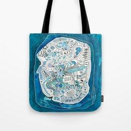 Life Map Tote Bag
