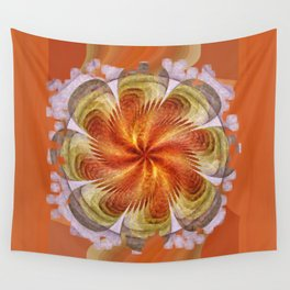 Senores Au Naturel Flower  ID:16165-061704-49220 Wall Tapestry