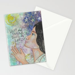 Light by patsy paterno Stationery Cards