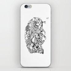 Mushroom Hedgehog iPhone & iPod Skin