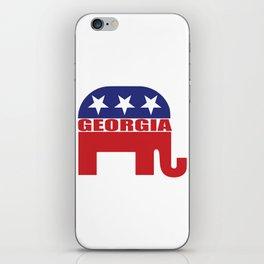 Georgia Republican Elephant iPhone Skin