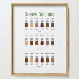 Sweet Seasons Greetings Serving Tray