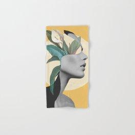 Floral Portrait /collage 3 Hand & Bath Towel