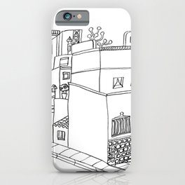 Street Of Malaga - Drawing iPhone Case