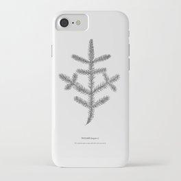 Spruce twig iPhone Case