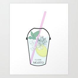 Mojito Sprinkles Art Print