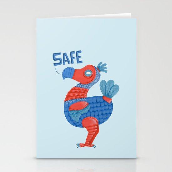 Safe Dodo Stationery Cards