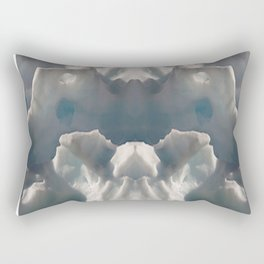 Facing Ice Rectangular Pillow