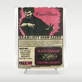 Count Dante Shower Curtain