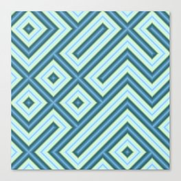 Square Truchets in MWY 01 Canvas Print