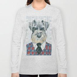 Schnauzer Mc Doogall Long Sleeve T-shirt