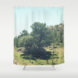Landscape in Portugal Shower Curtain