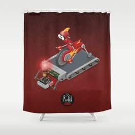 Raid Tread Clonks Shower Curtain