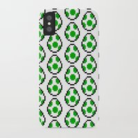 yoshi iPhone & iPod Cases featuring Yoshi Eggs by Rebekhaart