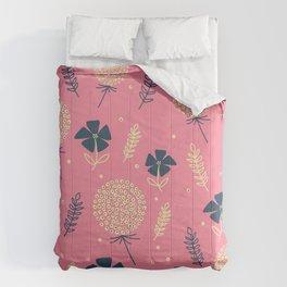 flower pattern spring leaves Comforters