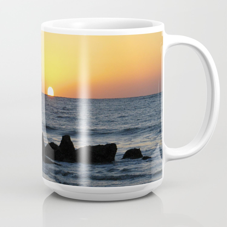Folly Beach Sunrise Coffee Mug By Gailsphotography Society6