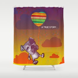 A True Story... Shower Curtain