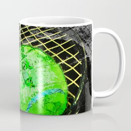 Tennis print work vs 8 Coffee Mug