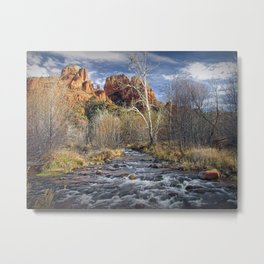 Cathedral Rock in Sedona Arizona Metal Print