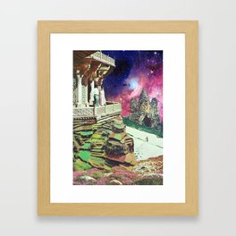 Metaphysical Collapse Framed Art Print