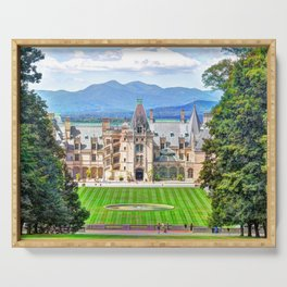 Biltmore House Serving Tray