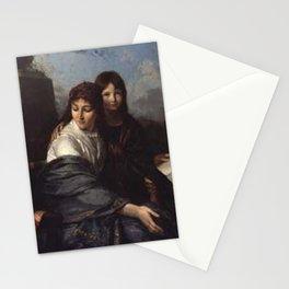 Jean-Pierre Saint-Ours - La lecture de la fable Stationery Cards