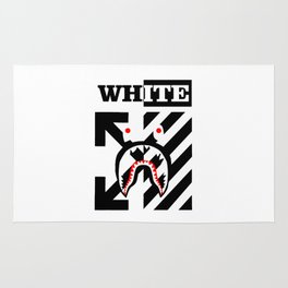 X Off White bape Rug