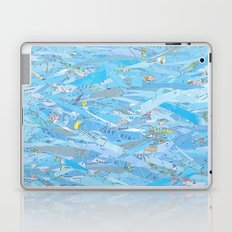 Ocean Waves Laptop & iPad Skin