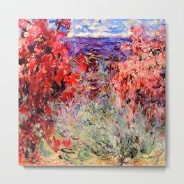 "Claude Monet ""Flowering Trees near the Coast"", 1926 Metal Print"