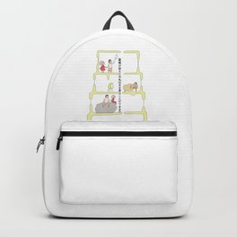Couple's love Backpack