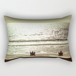 fishing village Rectangular Pillow