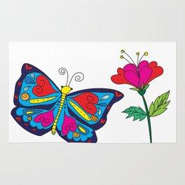 Love like a butterfly Rug