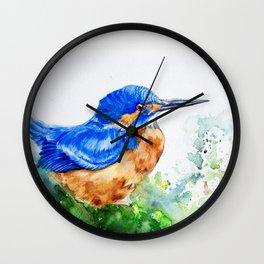 Kingfisher 2 Wall Clock