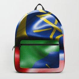 Ethiopia Flag Backpack