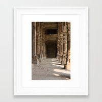 indiana jones Framed Art Prints featuring Indiana Jones by Katie Leigh Photography