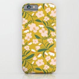 Vintage Inspired Floral iPhone Case