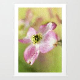 Pastel Spring Art Print