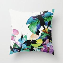 Zsa zsa zsu | Pollution Throw Pillow
