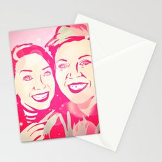Louise and Zoe Stationery Cards