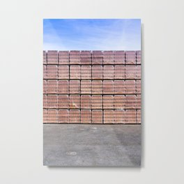 Another Brick For The Wall Metal Print