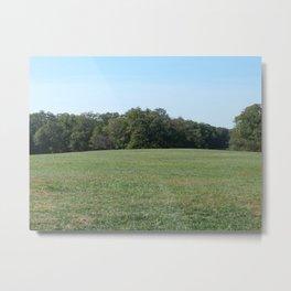 Field at Mount Vernon Metal Print