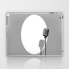 Musical Event Microphone Poster Laptop & iPad Skin
