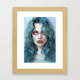 Eliminating Angel Framed Art Print
