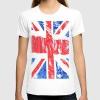 uk T-shirts featuring UK by arnedayan