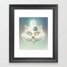 Release the Odd Kitty!!! Framed Art Print