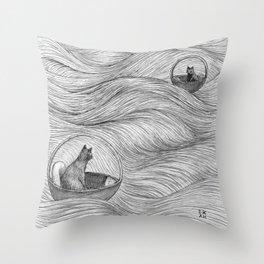 Serendipity II Throw Pillow