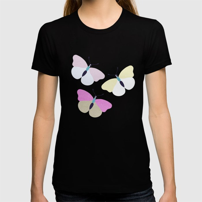 Flower and Butterfly II T-shirt