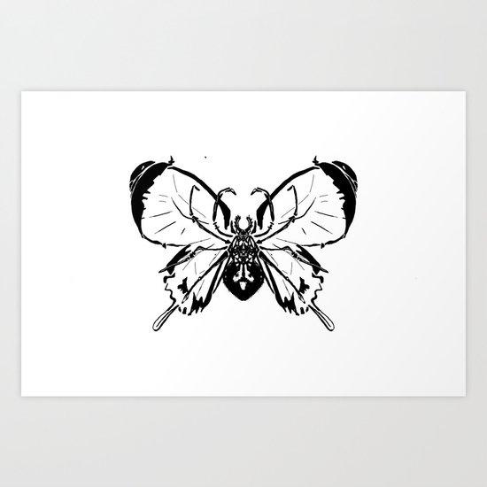 SPIDERFLY Art Print