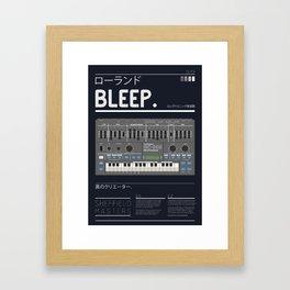 BLEEP_202 Framed Art Print